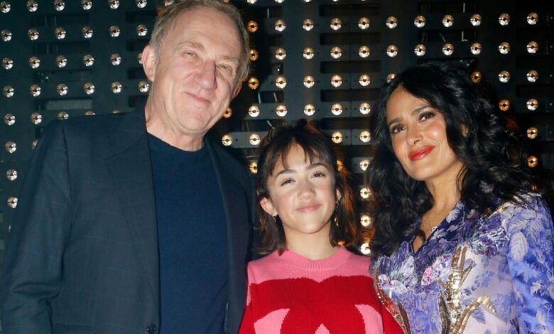 Quick Facts about Salma Hayek's 13 Year Old Daughter Valentina