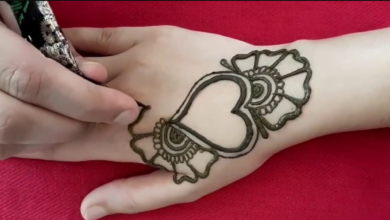 Simple And Easy Mehndi Designs For Beginners